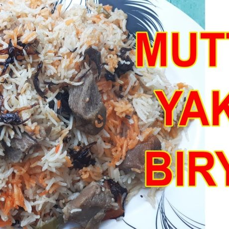 Muradabadi Yakhni Mutton Biryani