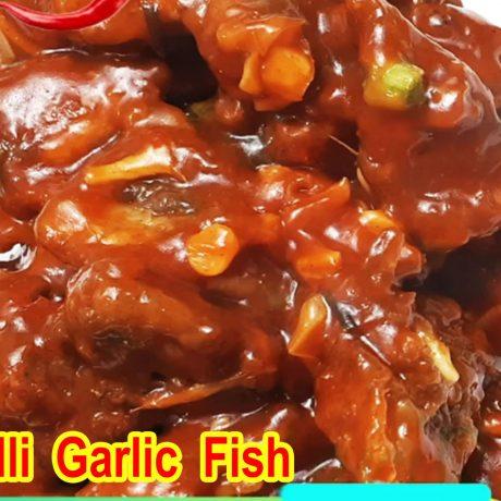 Chilli Garlic Fish Recipe | Tasty Fish Snacks Recipe | How To Make Chilli Garlic Fish