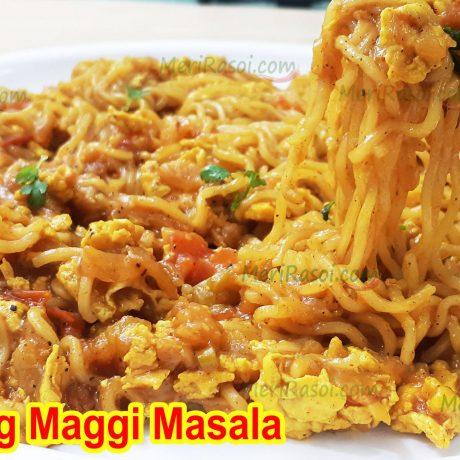 Egg Maggi Masala | Breakfast Recipe | Street Style Anda Maggie Masala