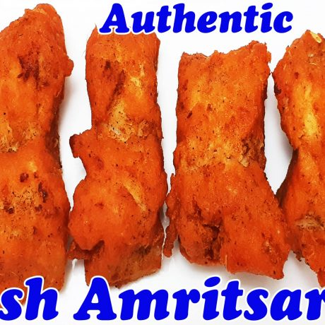 Authentic Amritsari Fish Recipe | Fish Fry Recipe